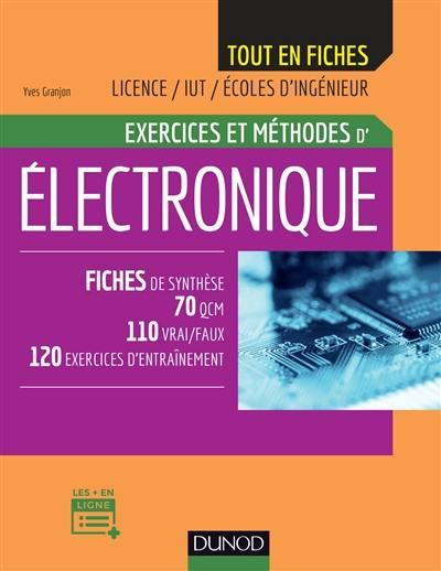 Exercices et méthodes d'électronique