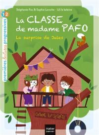 La classe de madame Pafo, La surprise de Jules