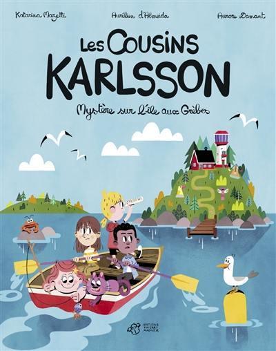 Les cousins Karlsson. Volume 1, Mystère sur l'île aux Grèbes