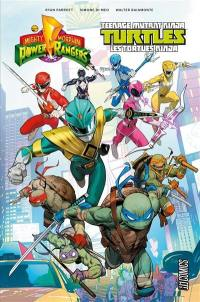 Mighty morphin Power Rangers & Teenage mutant ninja Turtles. Vol. 1
