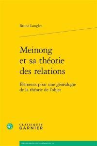 Meinong et sa théorie des relations