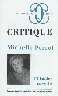 Critique. n° 843-844, Michelle Perrot