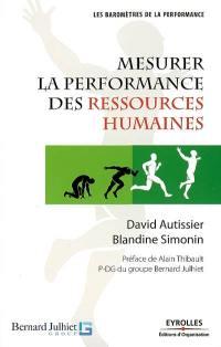 Mesurer la performance des ressources humaines