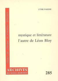 Mystique et littérature