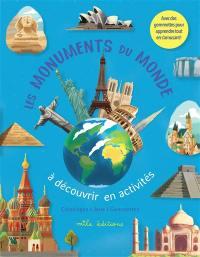 Les monuments du monde à découvrir en activités