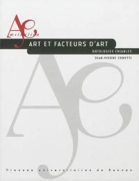 Art et facteurs d'art