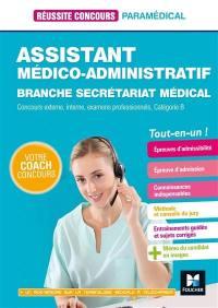 Assistant médico-administratif