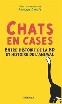 Chats en cases : entre histoire de la BD et histoire de l'animal