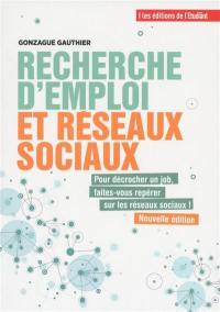 Recherche d'emploi et réseaux sociaux