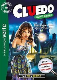 Cluedo. Volume 18, Dîner glaçant pour Mme Pervenche