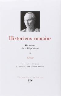 Historiens romains. Volume 2, Historiens de la République