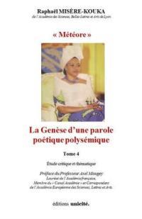 Edith-Lucie Bongo. Volume 4, Météore