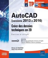 AutoCAD (versions 2013 à 2016)