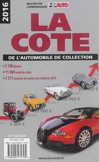 La cote de l'automobile de collection 2016