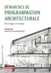Démarches de programmation architecturale