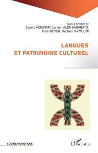 Langues et patrimoine culturel