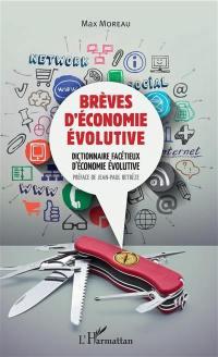 Brèves d'économie évolutive