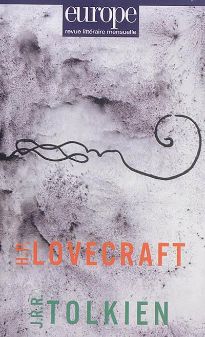Europe. n° 1044, H.P. Lovecraft, J.R.R Tolkien