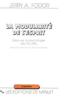 La modularité de l'esprit