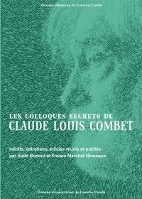 Les colloques secrets de Claude Louis-Combet