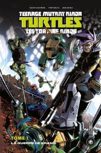 Teenage mutant ninja Turtles, La guerre de Krang
