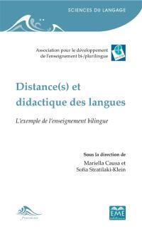 Distance(s) et didactique des langues