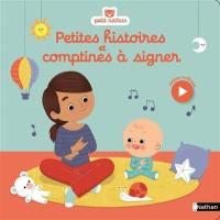 Petites histoires et comptines à signer