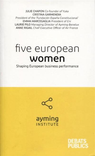 Five European women