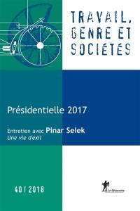 Travail, genre et sociétés. n° 40, Présidentielle 2017