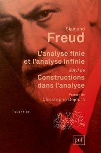 Oeuvres complètes, L'analyse finie et l'analyse infinie
