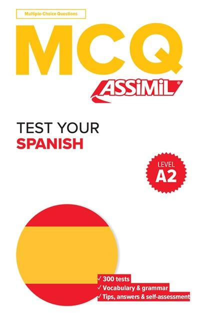 Test your Spanish, level A2