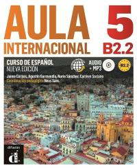 Aula internacional 5 : curso de espanol, B2.2 : recursos digitales audio + MP3