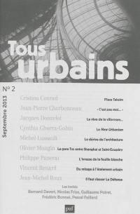 Tous urbains. n° 2 (2013),