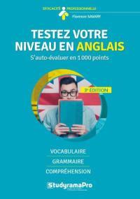 Testez votre niveau en anglais