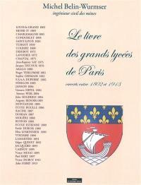 Le livre des grands lycées de Paris