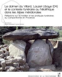 Le dolmen du Villard, Lauzet-Ubaye (04) et le contexte funéraire au néolithique dans les Alpes méridionales