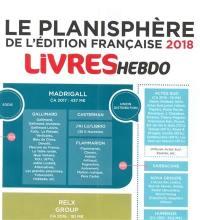 Le planisphère 2018 de l'édition française