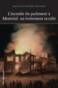 L'incendie du parlement à Montréal