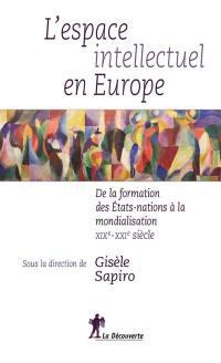 L'espace intellectuel en Europe