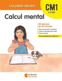 Calcul mental CM1, 9-10 ans