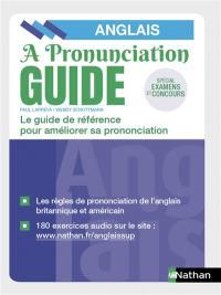 A pronunciation guide