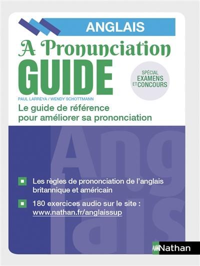 A pronunciation guide, anglais
