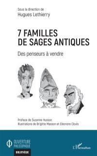 7 familles de sages antiques