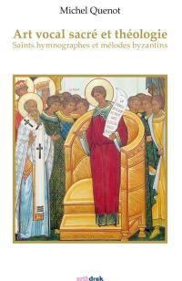 Art vocal sacré et théologie