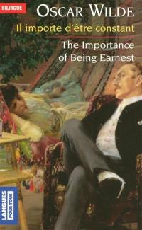 Il importe d'être constant = The importance of being earnest