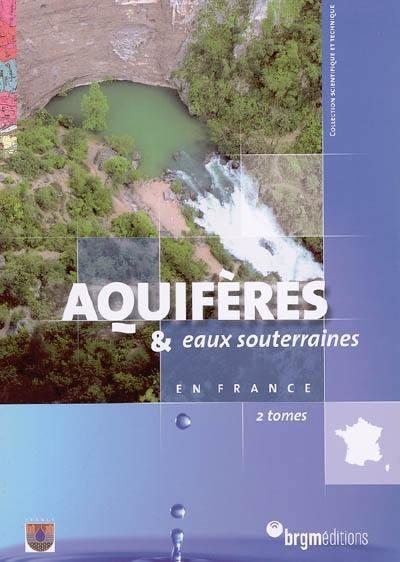 Aquifères & eaux souterraines en France