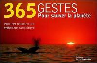 365 gestes pour sauver la planète