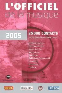 L'officiel de la musique, 2005