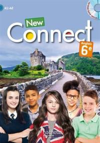 New connect : anglais 6e : A1-A2
