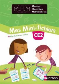 Mes mini-fichiers CE2 : + mon cahier de leçons